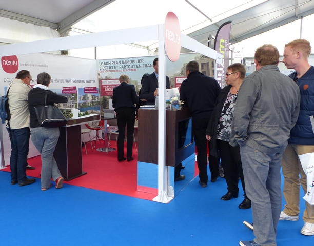 Salon immobilier neuf caen octobre 2015 nexity salon de for Logic immo salon de provence